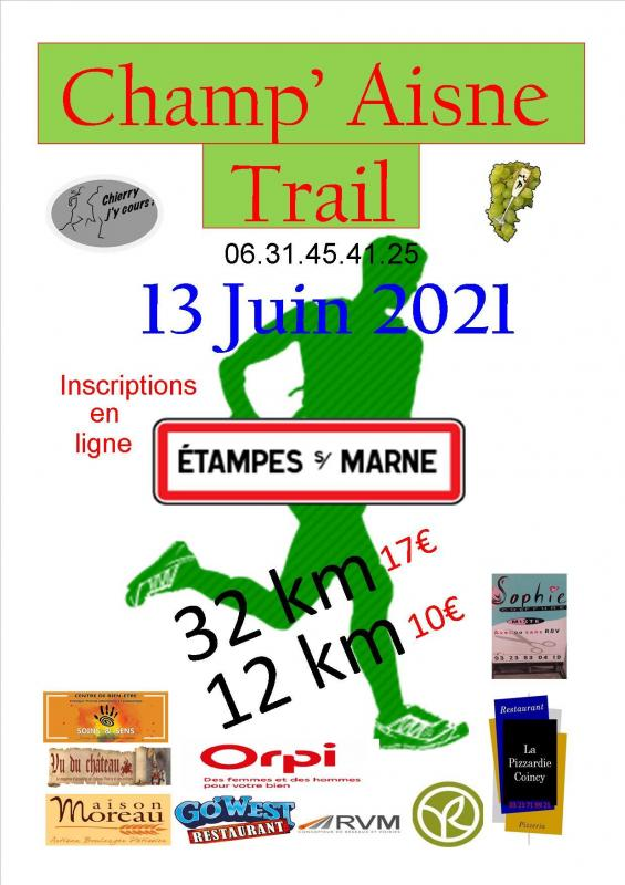 Affiche champ trail 2021