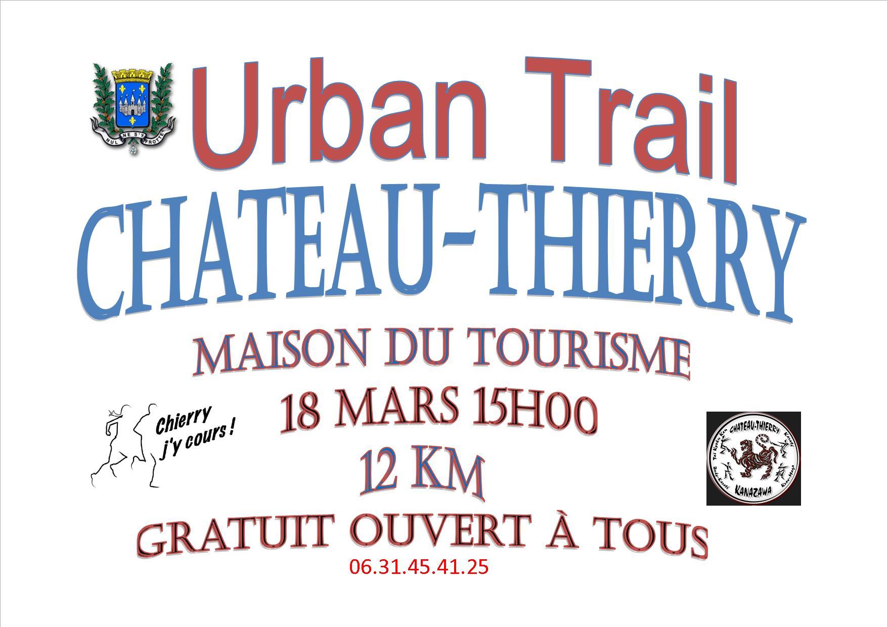 Affiche urban trail