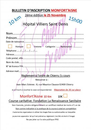Bulletin inscription 2018 monfort aisne