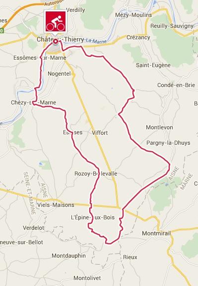 Randonnee cscct 60kms 30082015