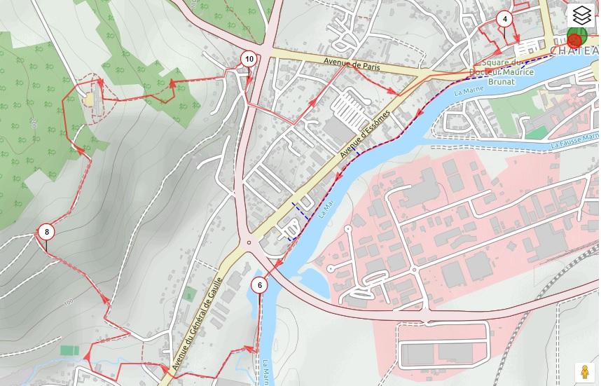 Trace urban trail 2